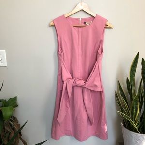 Ted Baker London Dresses - Ted Baker Papron Tie Front Dress Pink 3